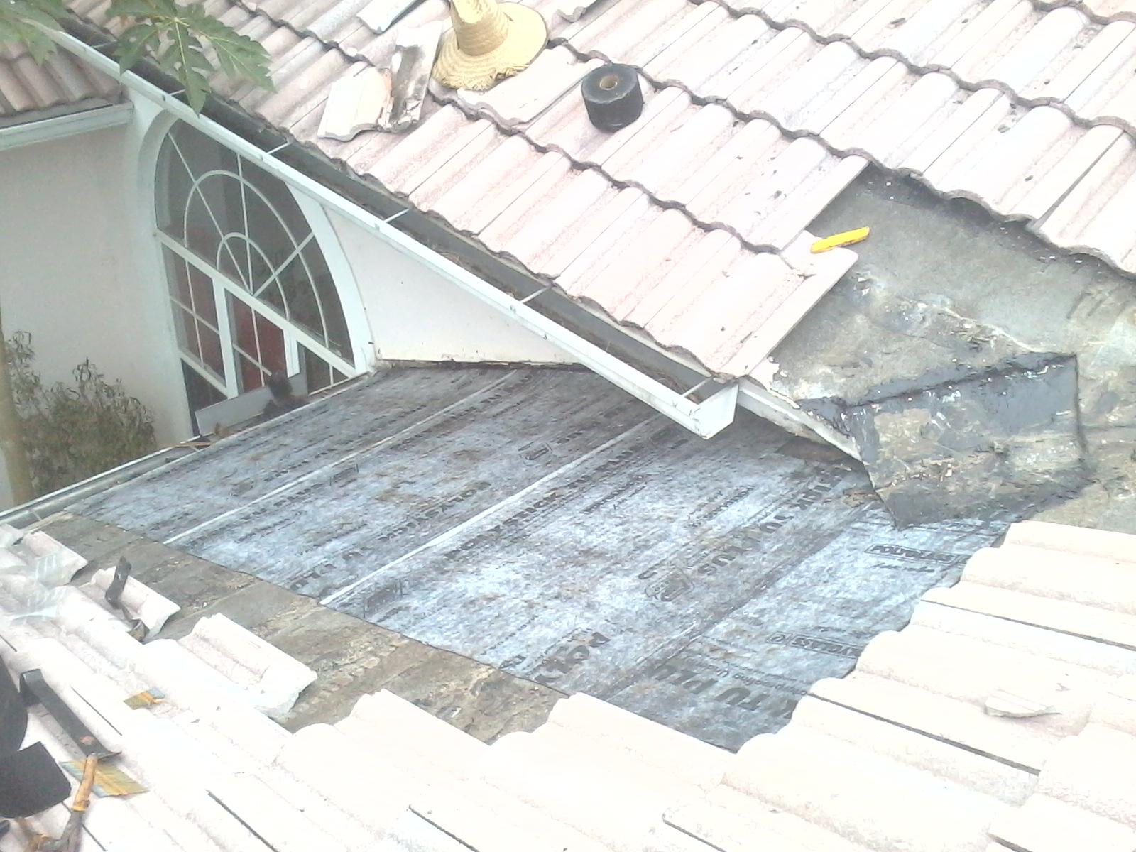 42 KWitter Repairing Roof