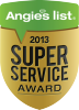 Angies List Supper Service Award